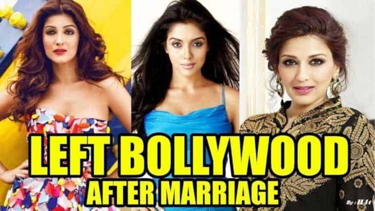 Famous Bollywood Actresses Who Quit Acting After Marriage