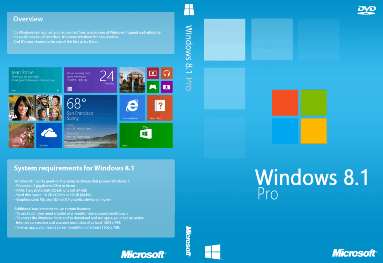 Download Windows 8 and 8.1 cracked and Pre-Activated