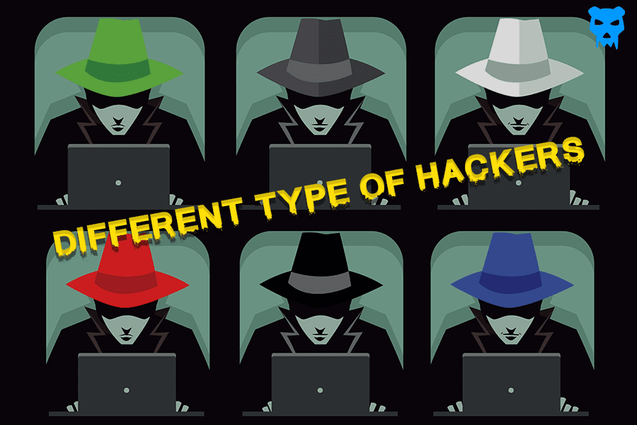Different type of Hackers
