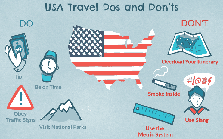 USA Do's and Don'ts